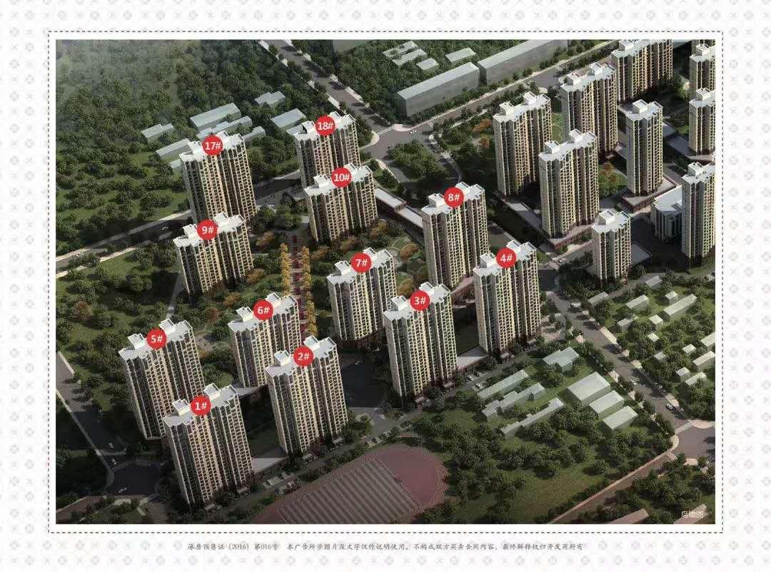 涿州卓悦城二期新楼盘规划沙盘